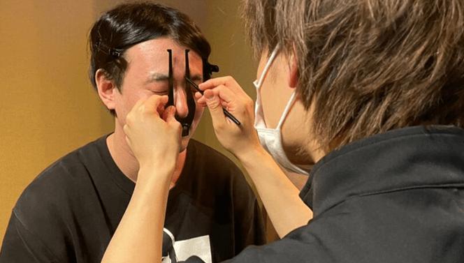 Eyebrow styling アイブロウスタイリング